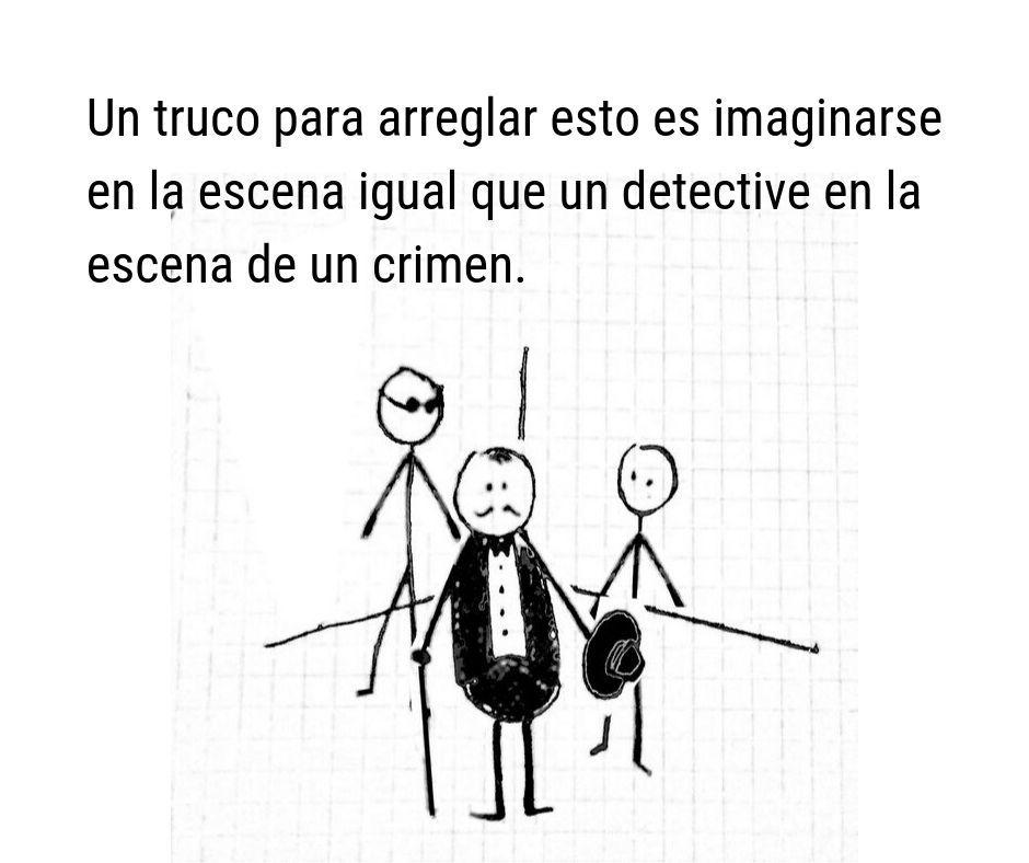 Cómo escribir una escena pensando como un detective 02